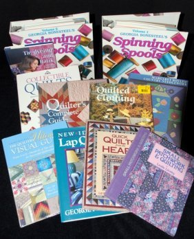 Books Quilts, Batik, Spinning Spools & More