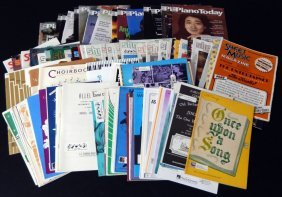 Vintage Magazines Piano Today & Sheet Music Plus