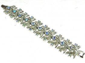 Coro Iridescent Rhinestone Bracelet