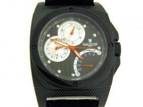 Lancaster Men's Kamata Black Dial Watch