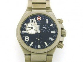 Swiss Army Victorinox Men's All Stainless Steel Co