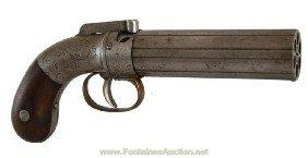Ethan Allen Pepperbox Revolver