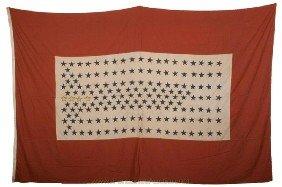 NEW YORK STATE 168TH REGIMENT HOUSE FLAG - POST 2