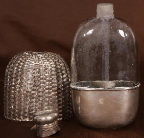 Gorham Sterling Silver 3/8 Pint Flask.