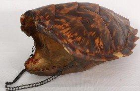 Large Hanging Tortoise Shell (Boulle). Some Light