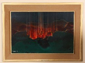 Leonardo Nierman O/B The Crater (1963) Leonardo Ni