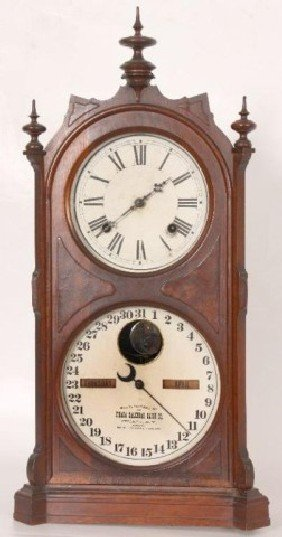 Ithaca Double Dial #9 Shelf Cottage 8 Day Spring D
