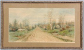 George Howell Gay W/C Country Road