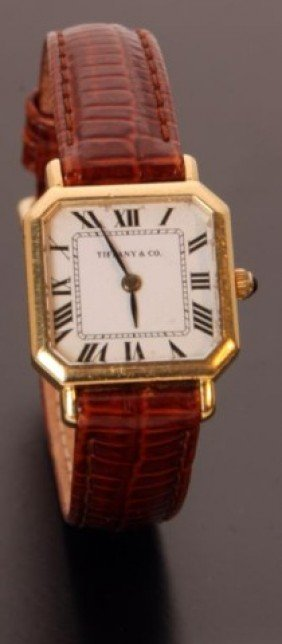 18K Tiffany & Co Ladies Watch