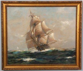 Frank Vining Smith O/C Clipper Ship