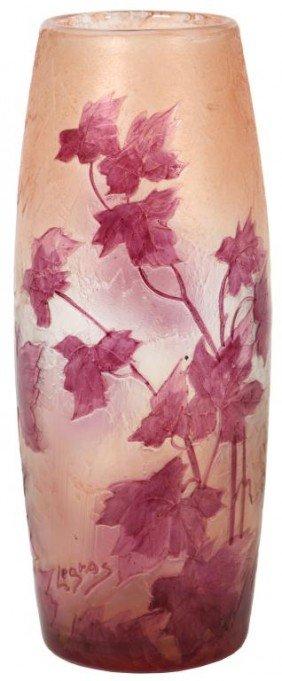 Le Gras Cameo Vase