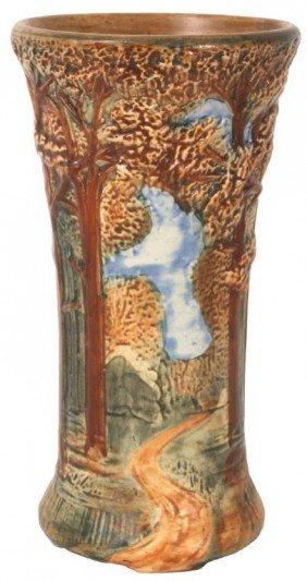 Weller Woodland Tall Vase