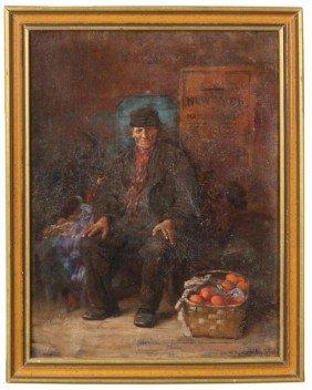 E. H. Blashfield O/C Fruit Seller
