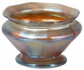 Tiffany Iridescent Cabinet Bowl