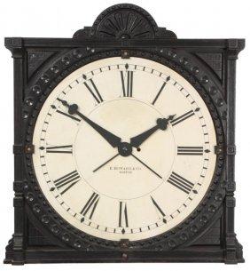 E. Howard No. 73 Gallery Clock