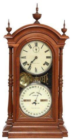 Double Dial Southern Calendar Clock