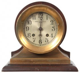 Chelsea 8 Day Ships Bell Mantle Clock