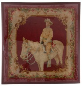 Theodore Roosevelt Rough Rider Tapestry