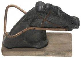 C.w. Parker Cast Iron Amusement Park Horse Head