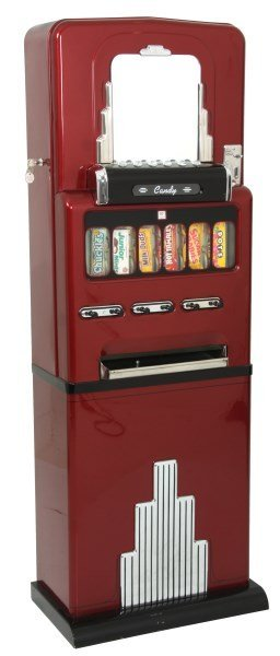 Art Deco Floor Standing 10 Cent Candy Machine