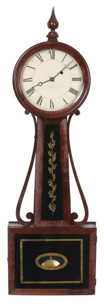American Weight Driven Banjo Clock