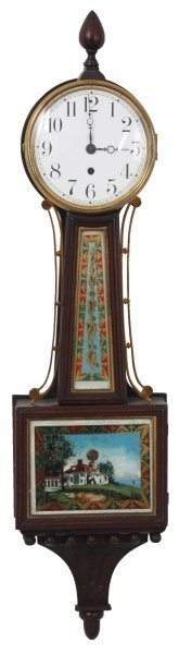 Waterbury Willard No. 5 Banjo Clock