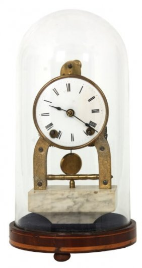 Terry Clock Co. Skeleton Dome Clock