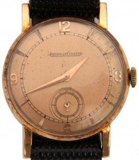 18k Jaeger Lecoultre Deco Wristwatch