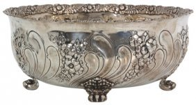 Tiffany & Co. Sterling Claw Foot Bowl
