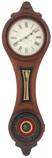 E. Howard No. 10 Figure Eight Wall Clock