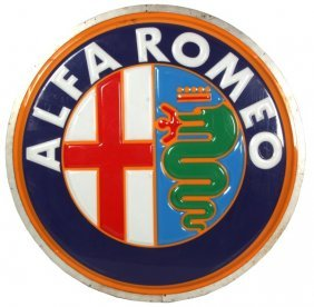 Alfa Romeo Dealership Sign