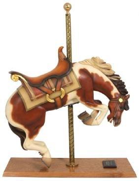 C.w. Parker Bucking Bronco Carousel Horse