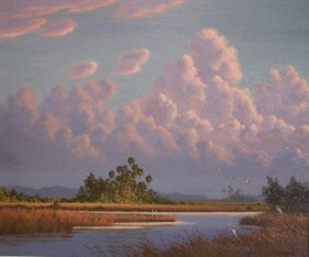 Karl A. Zimmermann Painting