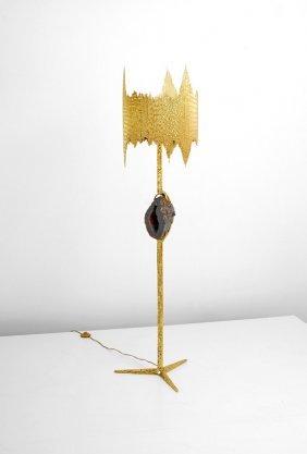 Rare Jacques Duval-Brasseur Floor Lamp
