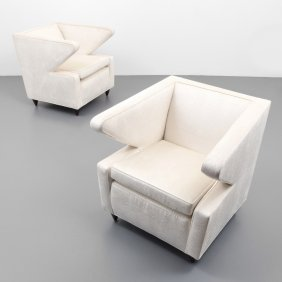Pair Of French Lounge Chairs
