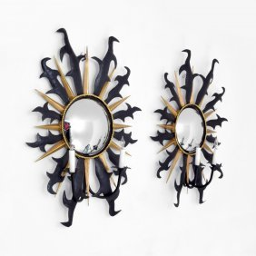 Pair Of Tony Duquette Sconces