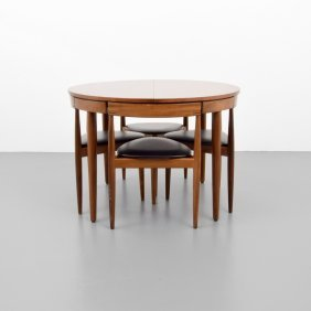 Hans Olsen Dining Table & 6 Chairs