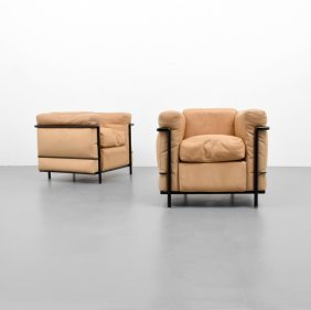 Jeanneret, Perriand & Le Corbusier Lounge Chairs