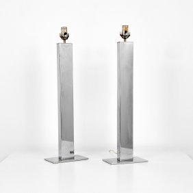 Pair Of George Kovacs Lamps