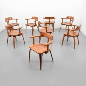 Walter Gropius & Ben Thompson Arm Chairs, 8