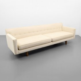 Edward Wormley Bracket Back Sofa