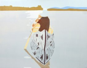 Large Alex Katz Painting, Original Work