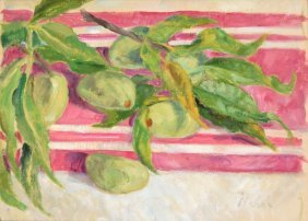 Marie Lucie Nessi-valtat Painting, Original Work