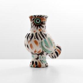 Pablo Picasso Chouette (wood Owl) Vessel