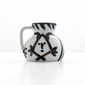 Pablo Picasso Head Pitcher