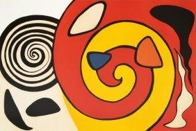 Alexander Calder Lithograph, Signed Artist Proof