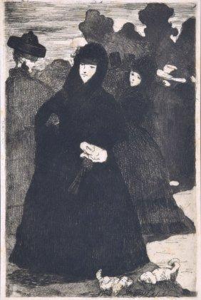Edouard Manet Etching