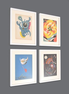 The Heavenly Bodies, Complete Set Of 4 Lithographs