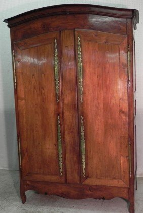 18th Century Fruitwood French Armoire