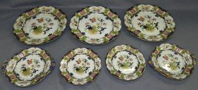 7 Pieces Of Ironstone China.